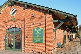 Western and Atlantic Depot (Dalton, Georgia) United States historic place