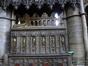 Issue of Edward III of England - Image: Westminster Abbey Edward 3