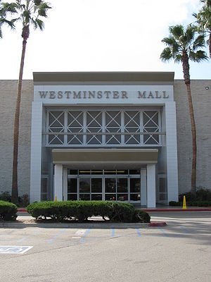 Westminster, California - Westminster Mall Entrance