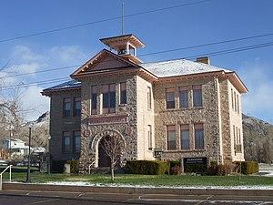 National Register of Historic Places listings in Sevier County, Utah - Image: White Rock Schoolhouse Elsinore Utah