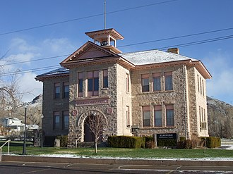 Elsinore, Utah - Elsinore's old White Rock Schoolhouse