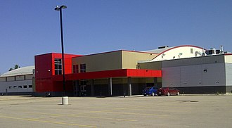 Whitecourt - Scott Safety Centre, home of the Whitecourt Wolverines of the AJHL