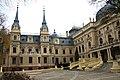Widok z dziedzińca pałacu Poznańskiego 02.JPG