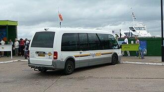 Optare Alero - Image: Wightbus 5898 HW04 DDJ rear