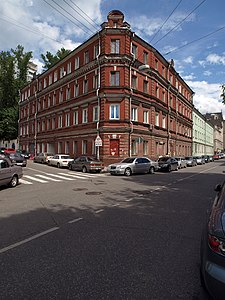 Wiki Aptekarsky Lane in Basmanny District, Moscow, Russia.jpg