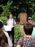 Wiki Party in Moscow 2013-05-18 (City tour; Krassotkin; 16).JPG