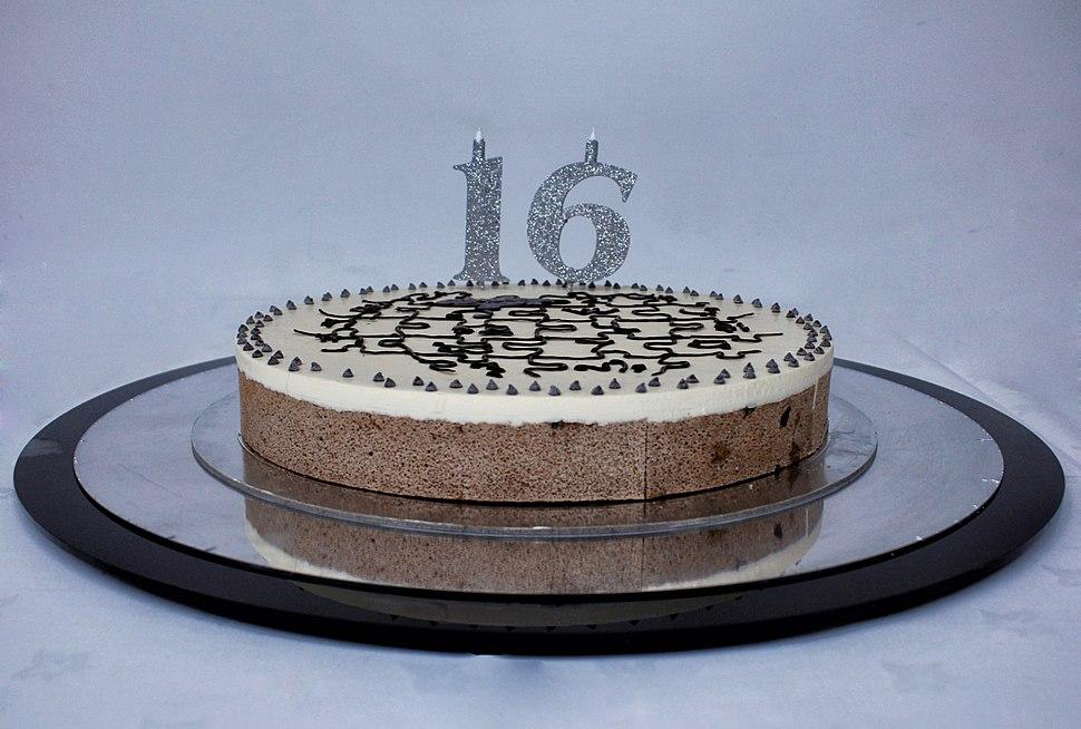 Wikipedia Birthday Cake 16.1