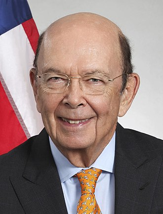 United States Secretary of Commerce - Image: Wilbur Ross headshot