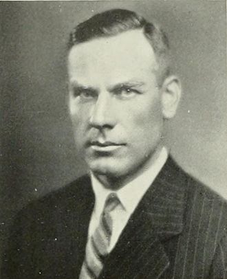 William H. Spaulding - Spaulding from 1928 UCLA yearbook