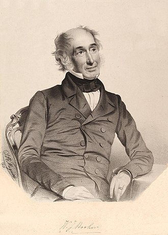 William Jackson Hooker - William Jackson Hooker in 1851 by Thomas Herbert Maguire