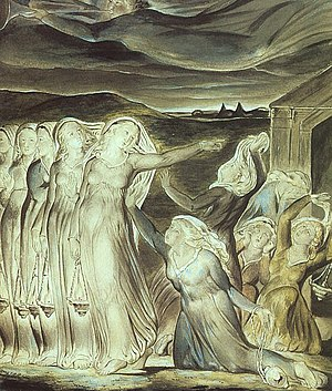 William Blake's Ten Virgins