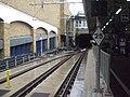 Wimbledon station Tramlink new platform 10a look south2 November 2015.JPG