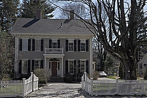 National Register of Historic Places listings in Winchester, Massachusetts - Image: Winchester MA Thomas Ayer House