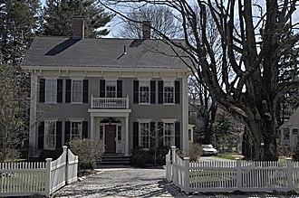 Thomas Ayer House - Image: Winchester MA Thomas Ayer House