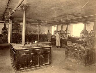 Winslow Chemical Laboratory - Image: Winslow interior