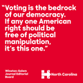 Winston-Salem Journal Editorial Board on voting rights.png