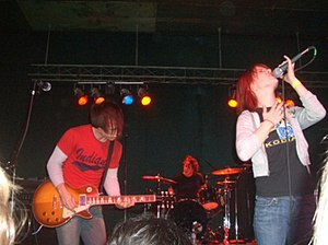 Paramore - Paramore performing in Portland, Oregon, 2006