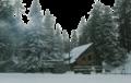 Winter cabin in California-digital-oil-paint.png