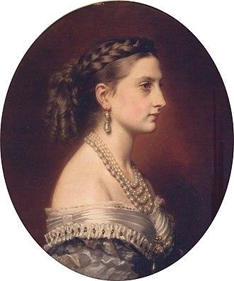 Infanta Antónia of Portugal - Princess Antonia of Hohenzollern-Sigmaringen, 1866