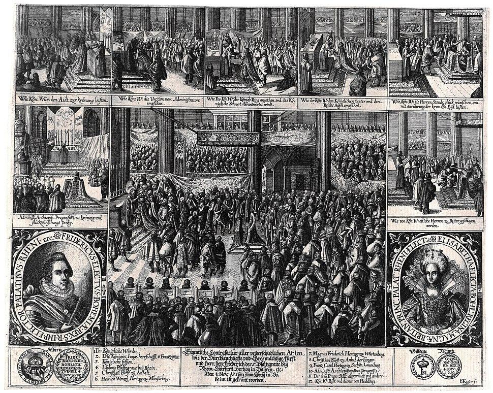 Winterkönig Eigentliche Contrafactur 1619