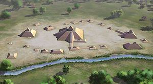 History of Mississippi - Winterville Mounds, near Greenville, Mississippi