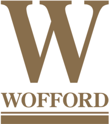Wofford Terriers baseball athletic logo