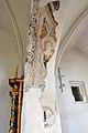 Wolfsberg Prebl Pfarrkirche hl Martin Triumphbogen gotische Fresken 03092014 133.jpg