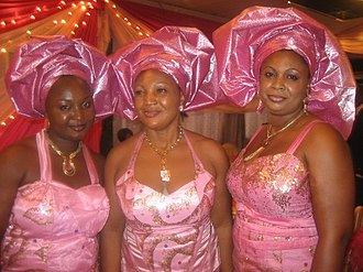Nnewi - Igbo women attire