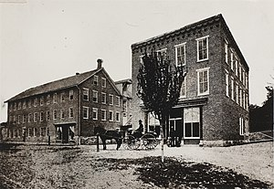 Woolrich, Pennsylvania - Factory c. 1887
