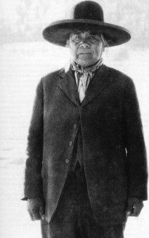 Ghost Dance - Wovoka—Paiute spiritual leader and creator of the Ghost Dance
