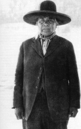 Ghost Dance - Wovoka—Paiute spiritual leader and creator of the Ghost Dance