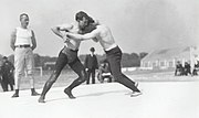 Wrestling match during 1904 Summer Olympics