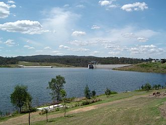 Beaudesert, Queensland - Wyaralong Dam, 2012