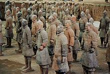 armee des soldats de xian chine