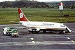 YU-ANU B737-200 Aviogenex Newcastle 01-08-91 - Copy (35957992626).jpg