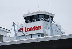 London International Airport - London International Airport control tower