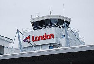 London International Airport - London International Airport control tower