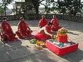 Yagya at Old Durga Mandir of Banaras 1.jpg