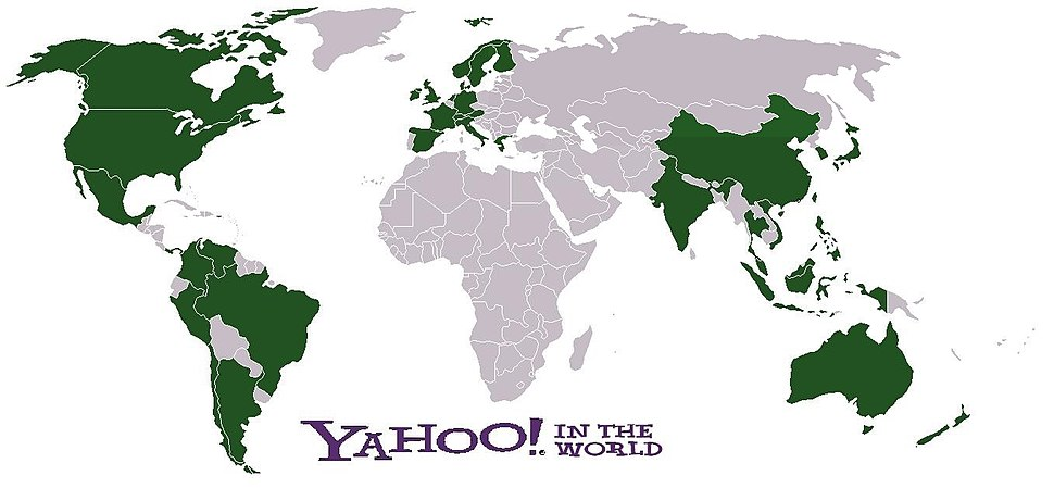 Yahoo Portals in the World