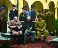 Yalta Conference, Circa 1945, Colorized.jpg