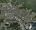 Yanai city center area Aerial photograph.2008.jpg