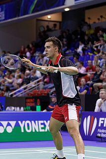 Chris Adcock Badminton player