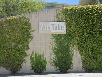 YouTube headquarters in San Bruno, California.