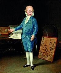 Luis María de Borbón y Vallabriga by Francisco de Goya (Museo de Zaragoza)