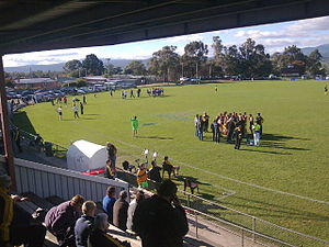 Youngtown Oval - Image: Youngtown Oval 1