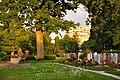 Zürich - Affoltern - Unteraffoltern - Friedhof 2010-06-05 20-44-56.JPG