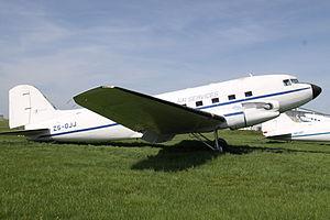 Ottawa Municipal Airport - Douglas DC-3 Static Display