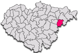 Commune Zalha in Sălaj County