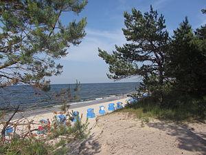 Bernsteinstrand an der Ostsee in Zempin