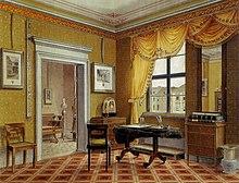 Decoration Interieure Anglaise Le Salon Soubassement Gris Anthracite